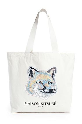 Unisex Other Animal Patterns Logo Totes