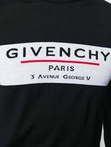 GIVENCHY Crew Neck Pullovers Wool Long Sleeves Logo Luxury Sweaters