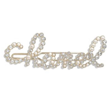 CHANEL ICON Barettes Party Style Elegant Style Formal Style  Clips