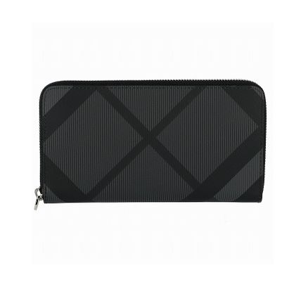 Other Plaid Patterns Long Wallet  Long Wallets