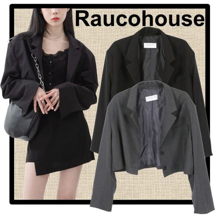 Raucohouse Casual Style Street Style Jackets