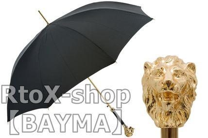Unisex Plain Umbrellas & Rain Goods