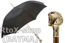 Pasotti Unisex Plain Metallic Umbrellas & Rain Goods
