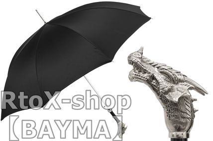 Unisex Plain Metallic Umbrellas & Rain Goods