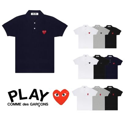 COMME des GARCONS Casual Style Short Sleeves Polos