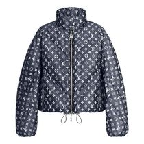 Louis Vuitton Blurry Monogram Down Jacket