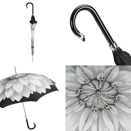 Flower Patterns Unisex Umbrellas & Rain Goods