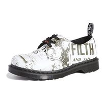 Dr Martens 1461 Unisex Street Style Leather Logo Shoes