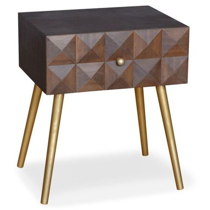 Menzzo Night Stands Table & Chair
