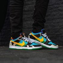 Nike DUNK Street Style Collaboration Logo Sneakers