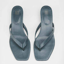 TOTEME Casual Style Plain Leather Sandals Sandal