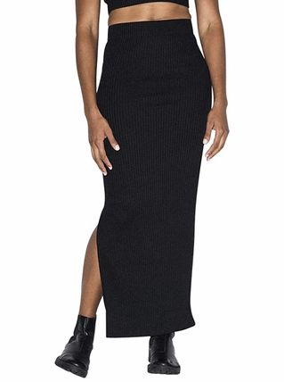 Pencil Skirts Casual Style Maxi Plain Long Party Style