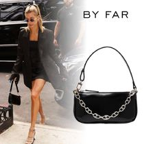 by FAR Casual Style 2WAY Chain Plain Leather Party Style
