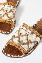 Sam Edelman Rubber Sole Casual Style Leather Sandals Sandal