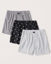 Abercrombie & Fitch Other Animal Patterns Cotton Co-ord Logo Trunks & Boxers