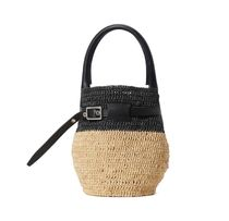 CELINE Big Bag Crossbody Straw Bags