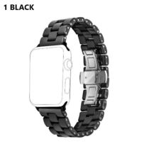 Casual Style Ceramic Elegant Style Apple Watch Belt Watches
