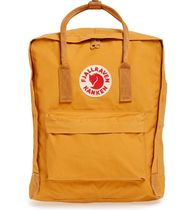 FJALLRAVEN Casual Style Unisex Street Style Plain Logo Backpacks