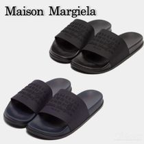 Maison Margiela Unisex Plain Shower Shoes PVC Clothing Logo Shower Sandals