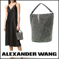 Alexander Wang Casual Style Plain Party Style With Jewels Elegant Style