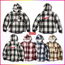 Supreme Unisex Blended Fabrics Street Style Collaboration MA-1