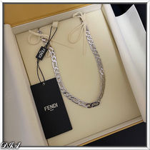 FENDI Street Style Chain Necklaces Necklaces & Chokers