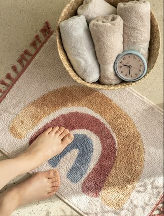 Tassel Bath Mats & Rugs Outdoor Mats & Rugs HOME