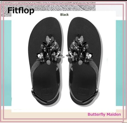 Rubber Sole Casual Style Plain Leather Party Style