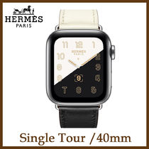 HERMES Unisex Leather Elegant Style Apple Watch Belt Watches