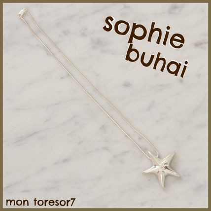 Star Casual Style Handmade Silver Necklaces & Pendants