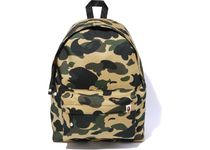 A BATHING APE Camouflage Unisex Street Style Logo Backpacks