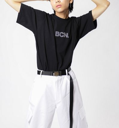Casual Style Unisex Street Style Cotton Pants