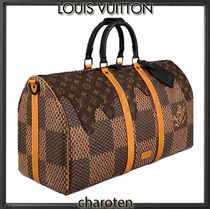 Louis Vuitton MONOGRAM Other Plaid Patterns Monogram Unisex Calfskin Canvas
