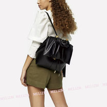 TOPSHOP Casual Style Street Style A4 2WAY Plain Backpacks