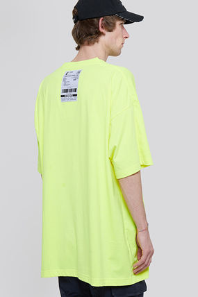VETEMENTS More T-Shirts Unisex Street Style Plain Short Sleeves Logo T-Shirts 10