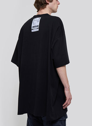 VETEMENTS More T-Shirts Unisex Street Style Plain Short Sleeves Logo T-Shirts 4