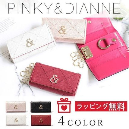 Pinky&Dianne Leather Keychains & Bag Charms