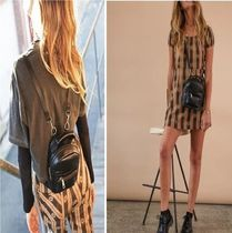AFENDS Casual Style Street Style Plain Backpacks
