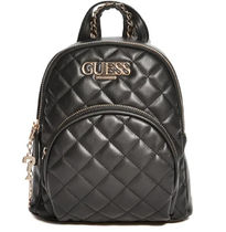 Guess Tartan Casual Style Faux Fur Blended Fabrics 2WAY Chain