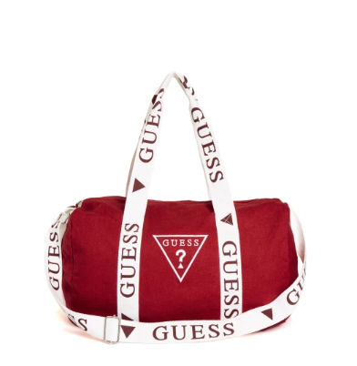 Canvas Plain Crossbody Logo Boston & Duffles