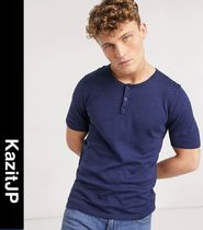 ASOS Henry Neck Short Sleeves Henley T-Shirts