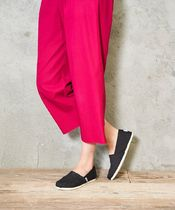 TOMS Casual Style Street Style Plain Logo Flats