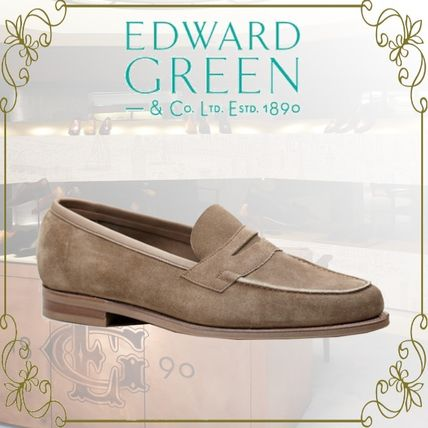 Loafers Suede U Tips Loafers & Slip-ons
