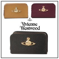 Vivienne Westwood Plain Leather Pouches & Cosmetic Bags