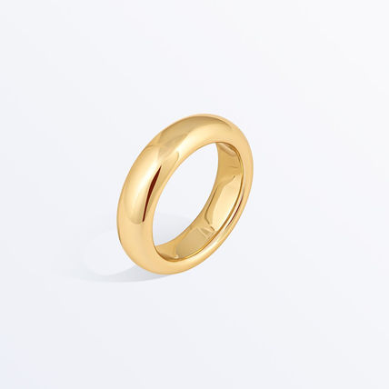 Party Style Brass 14K Gold Elegant Style Rings