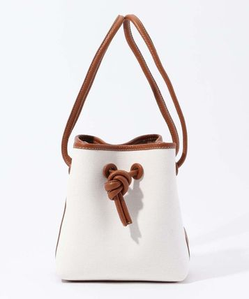 Casual Style Leather Elegant Style Handbags