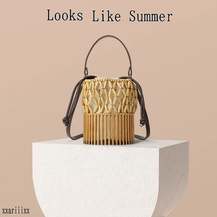 2WAY Crossbody Straw Bags