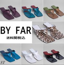 by FAR Leopard Patterns Square Toe Casual Style Street Style Plain