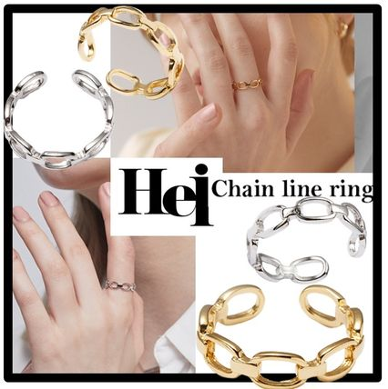 Casual Style Street Style Rings