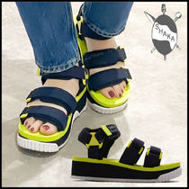 SHAKA Platform Casual Style Street Style Plain Sport Sandals